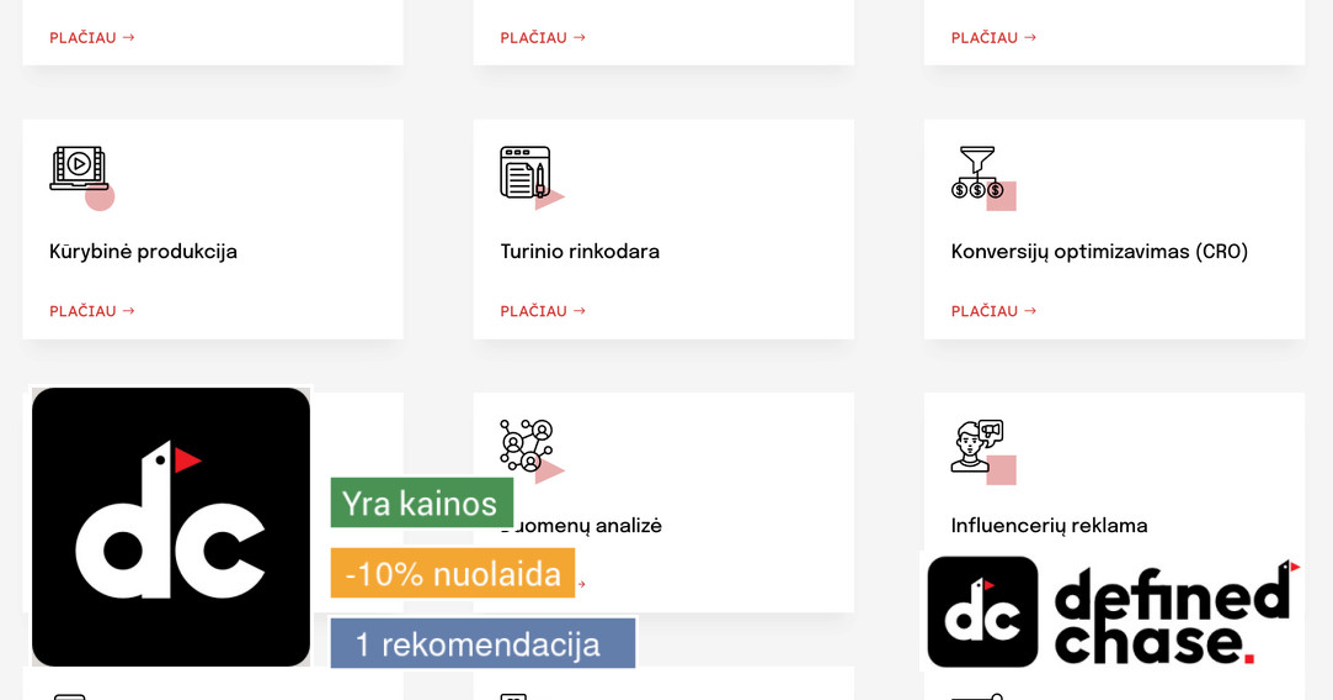 Google Ads bei Facebook reklama/paslaugos