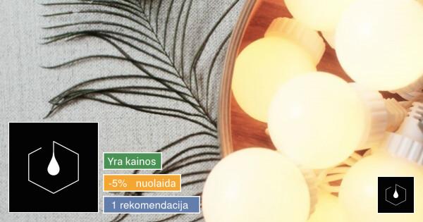 Choco lemputės - dekoratyvaus apšvietimo profesionalai
