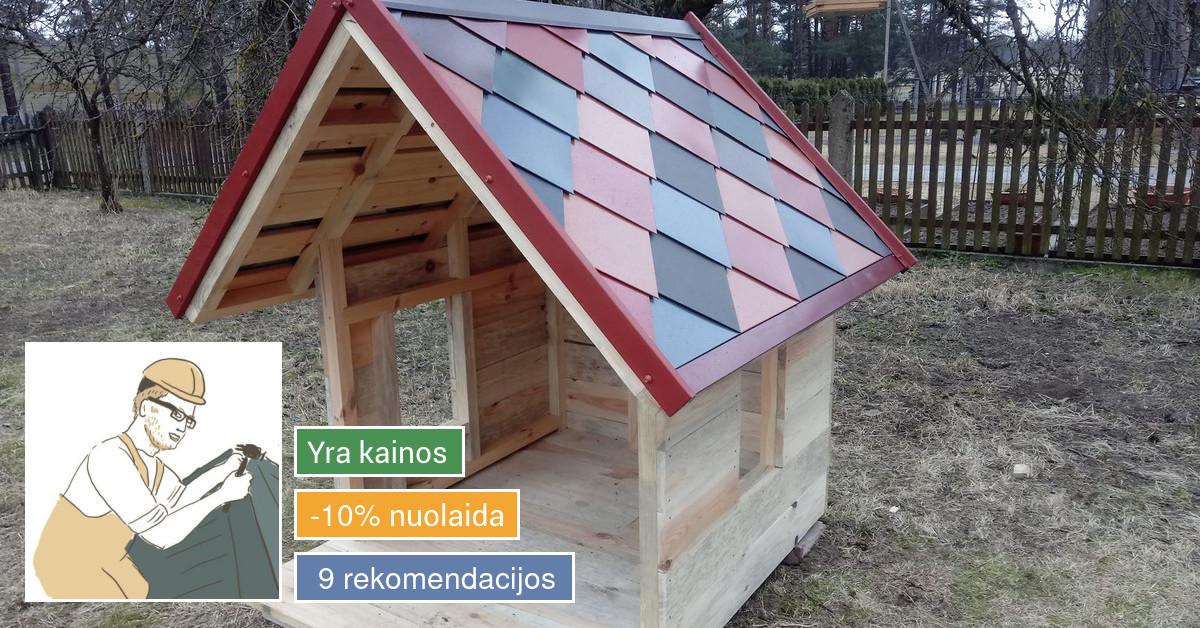 Stogdengys, skardininkas Vaidas Juodšiliuose ir Vilniaus r.