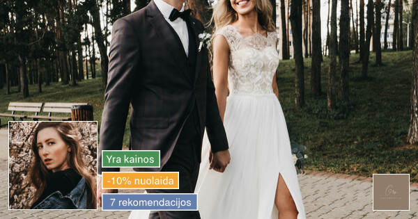 Rezervuojamos vestuvių datos 2021 metams / Grisfoto