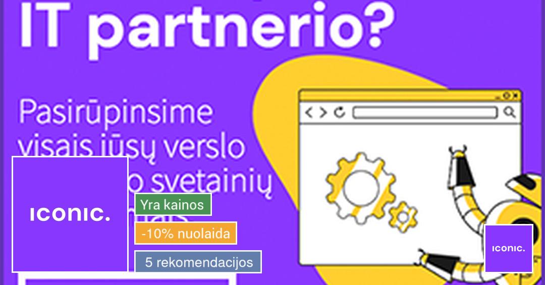 Interneto svetainės, e-shop, reklama, web priežiūra