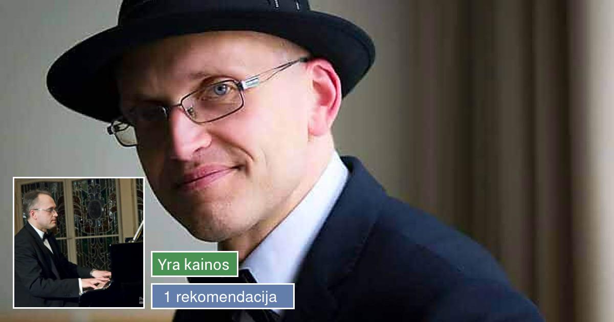 Pianistas Darius Kudirka IŠSKIRTINĖMS JŪSŲ ŠVENTĖMS!