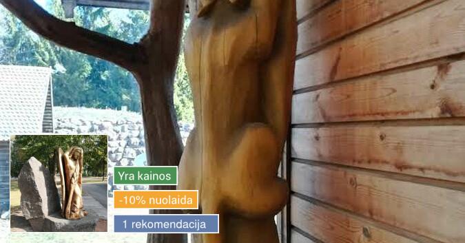 medžio skulptūros