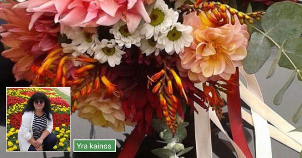 Dalios Gėlės - puokštės, kompozicijos, gėdulo vainikai