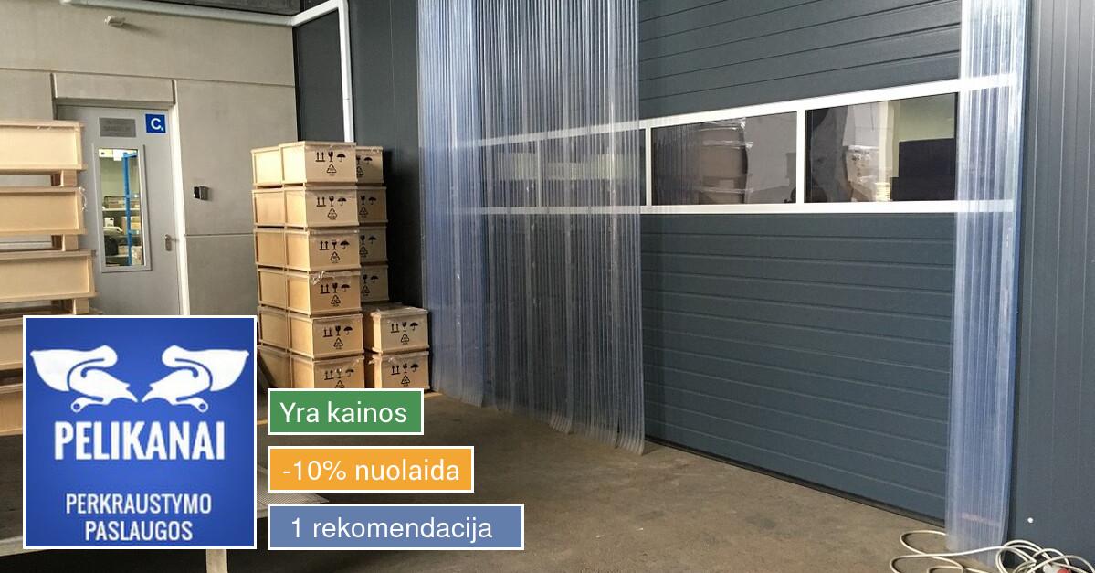 Perkraustymo paslaugos Lietuvoje ir Europoje