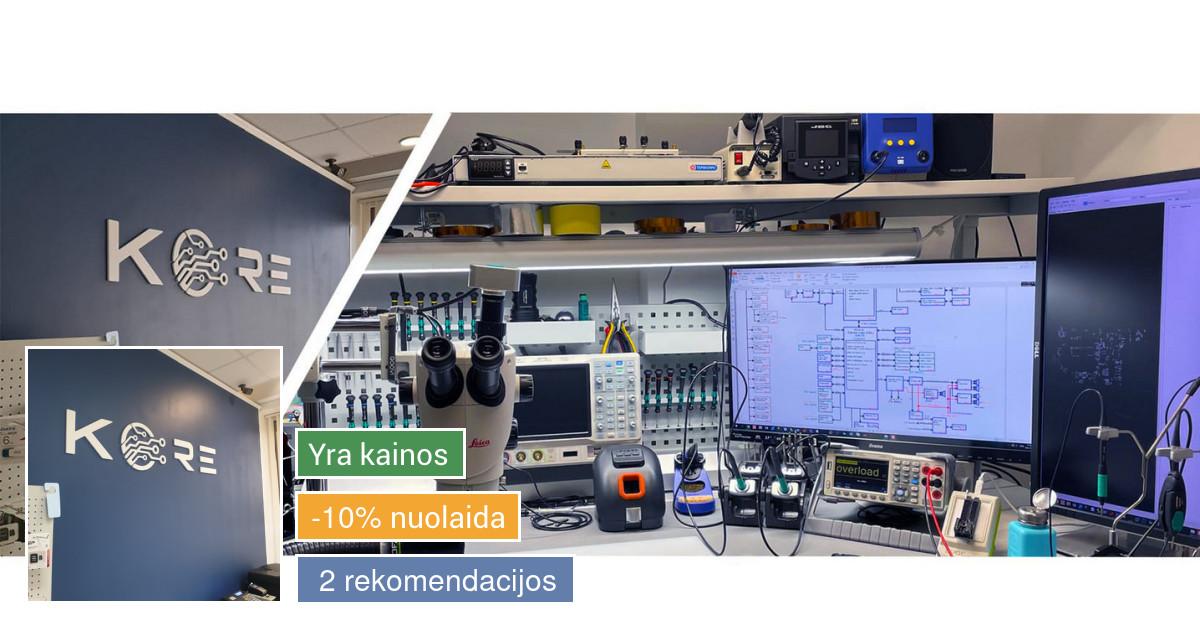 Kore - Kompiuterių remontas Panevėžyje.