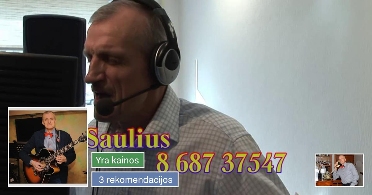 Grupė darberniukai Muzikantas Saulius Alytus
