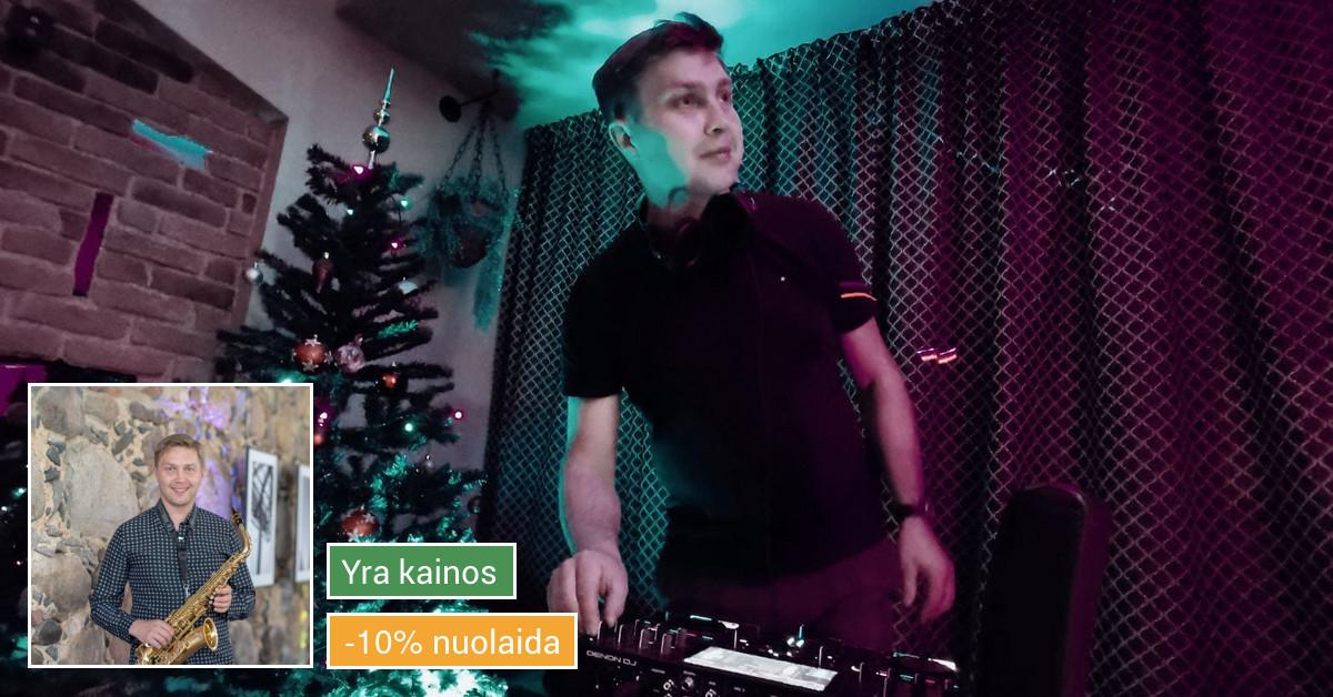 Saksofono muzika + Dj Jūsų šventiniam vakarui.