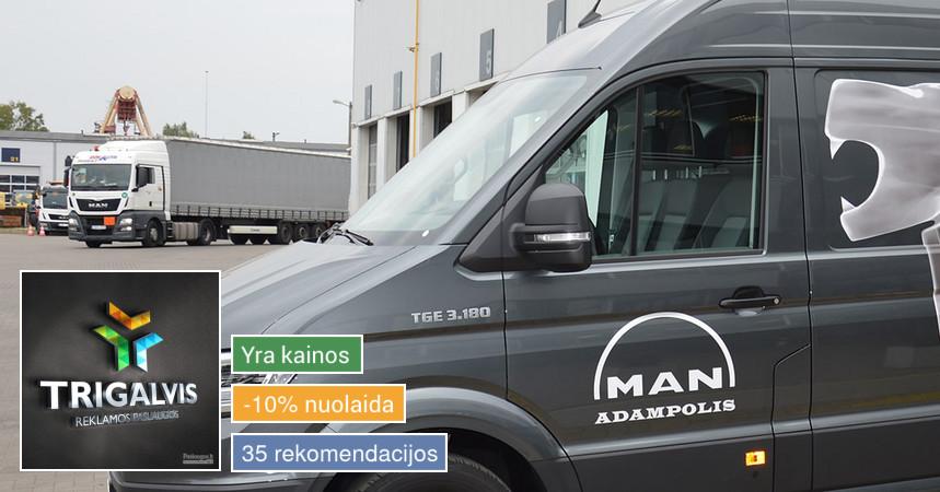 Reklama ant automobilio lipdukų gamyba lauko/vidaus reklama