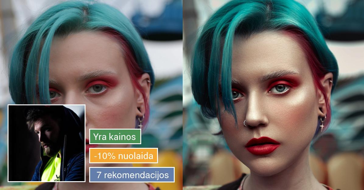 Profesionalus nuotraukų retušavimas