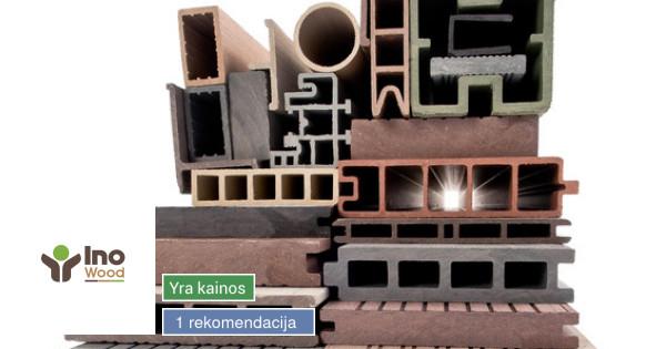 Bio kompozito gamyba, projektavimas ir montavimas #Inowood