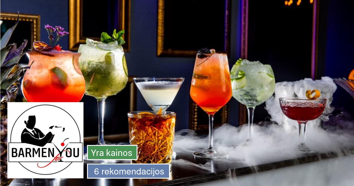 Barmen For You - mobilus baras, baro šou, šampano piramidės