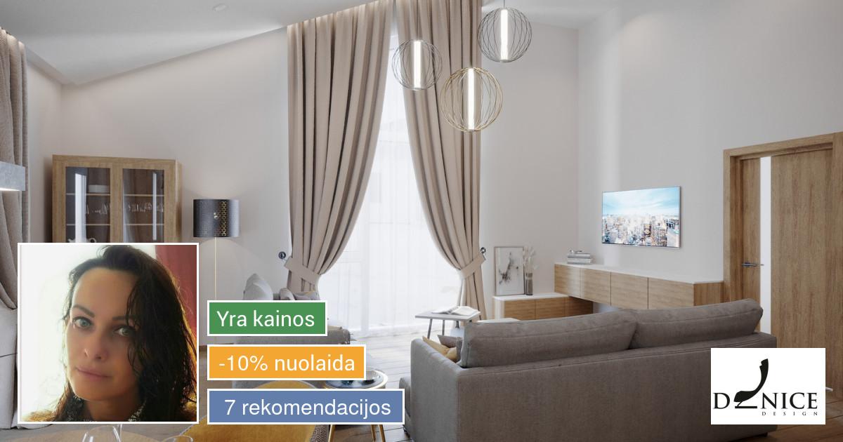 Interjero projektavimas, dizainas, dekoravimas