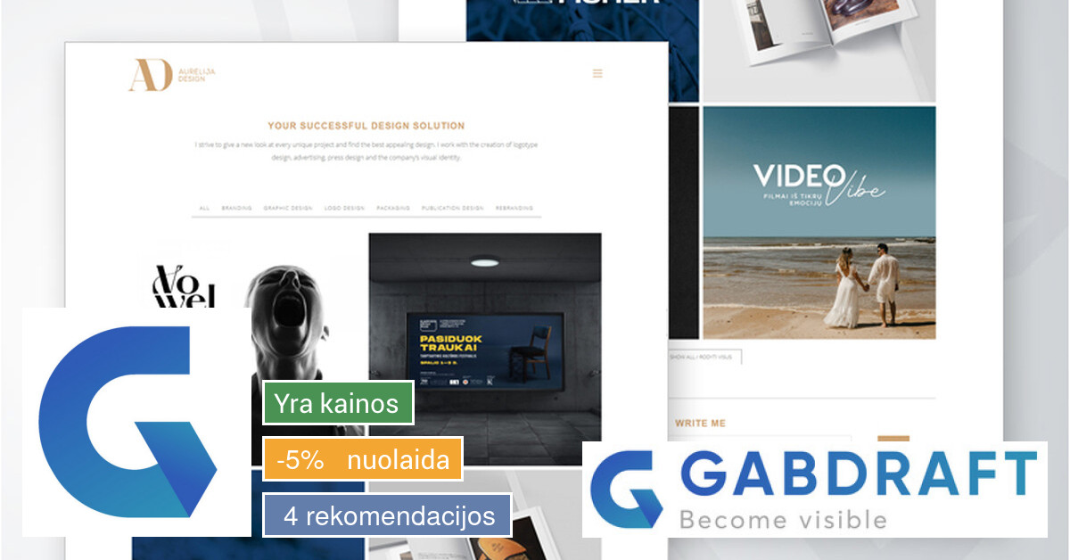 Internetinių svetainių kūrimas - išsimokėtinai!