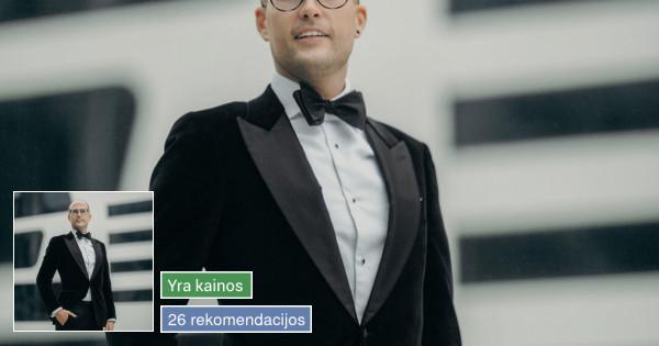 Renginių vedėjas Kaune, visoje Lietuvoje