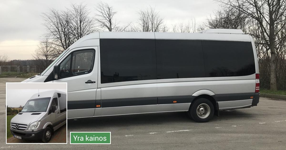 Keleivių vežimo paslaugos, mikroautobusų nuoma Klaipėdoje
