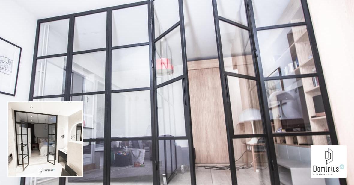 Stiklo-metalo pertvarų ir durų gamyba