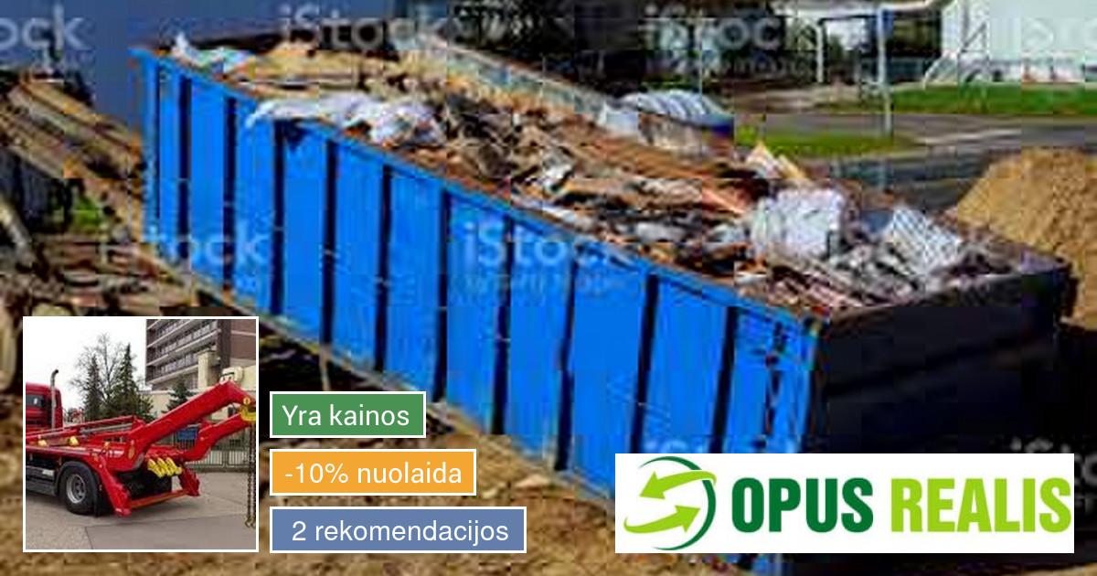 Statybinių Atliekų Išvežimas Vilniuje! nuo 50eur!