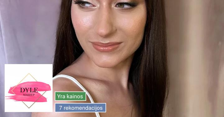 Makiažas, šukuosena, antakių dizainas (Dyle makeup)
