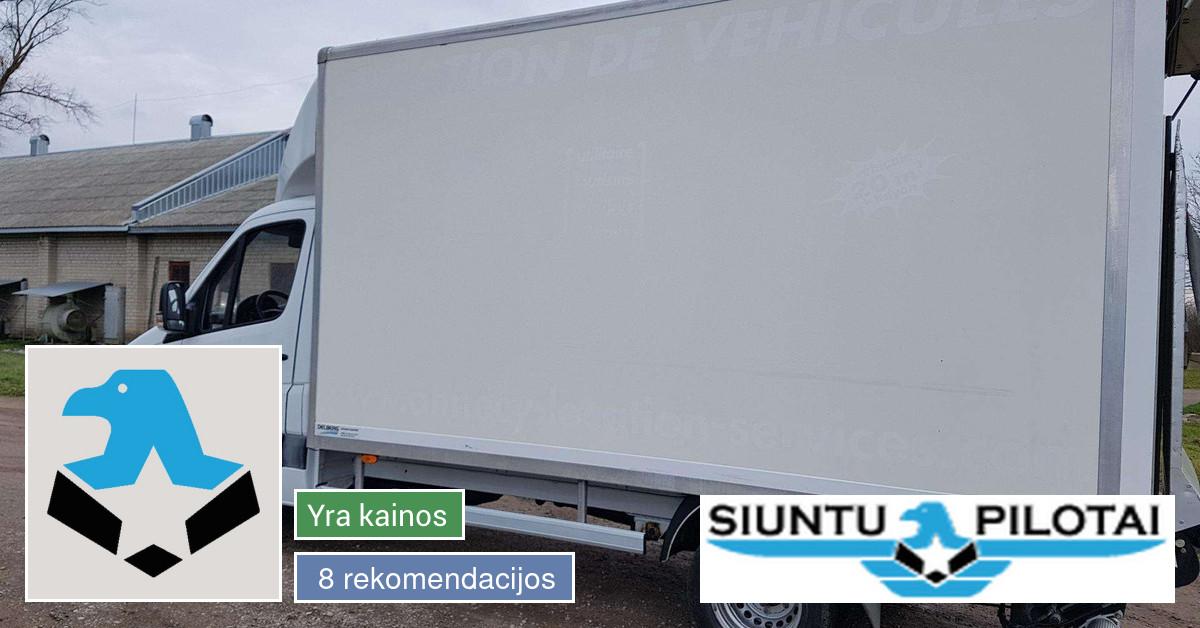 Siuntų ir krovinių pervežimo paslaugos Lietuvoje