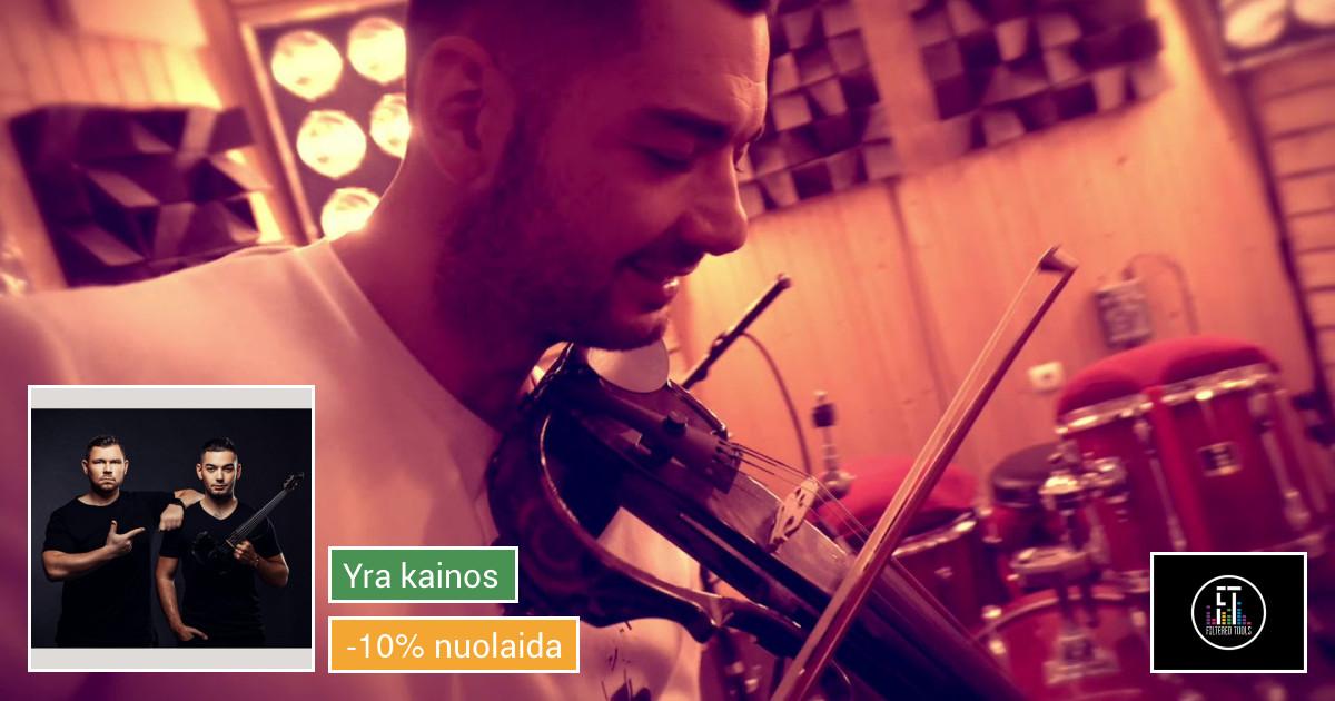 Unikalūs Dj ir elektrinio smuiko pasirodymai