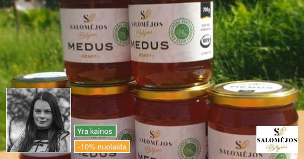 Medus, bičių duonelė, žiedadulkės, pikis, žvakės