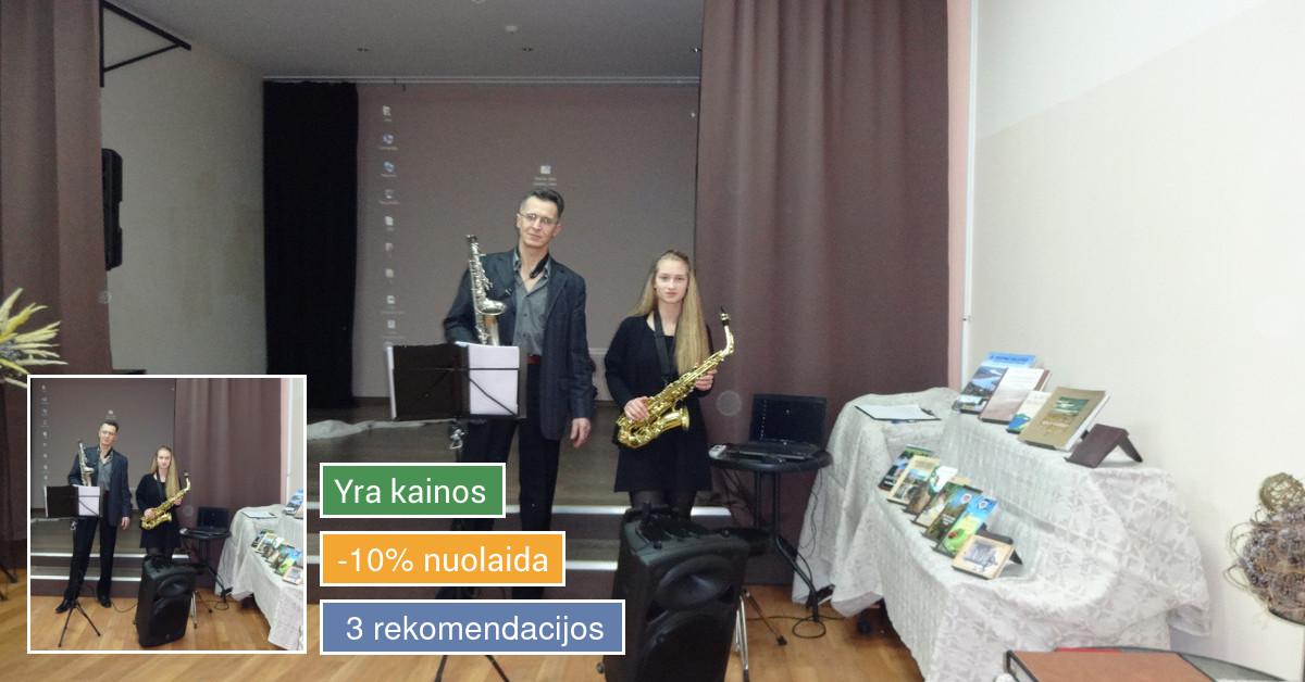 Saksofono pamokos
