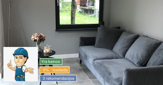 Apdailos darbai, remontas Kaune