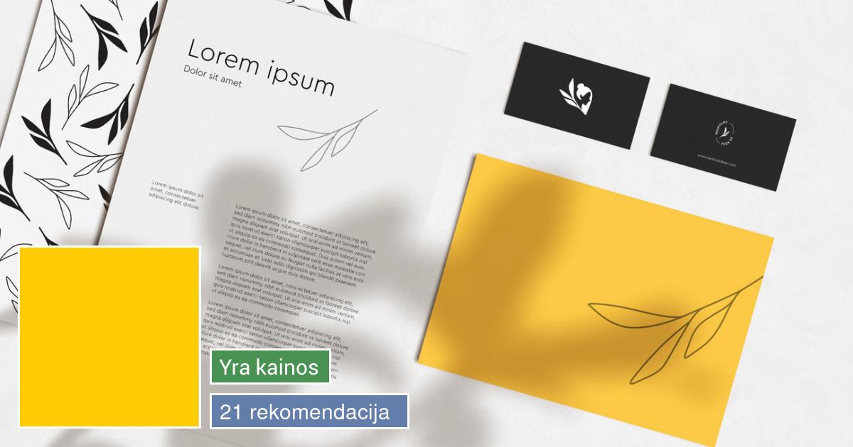Logotipų kūrimas grafikos dizainas deepyellow_design