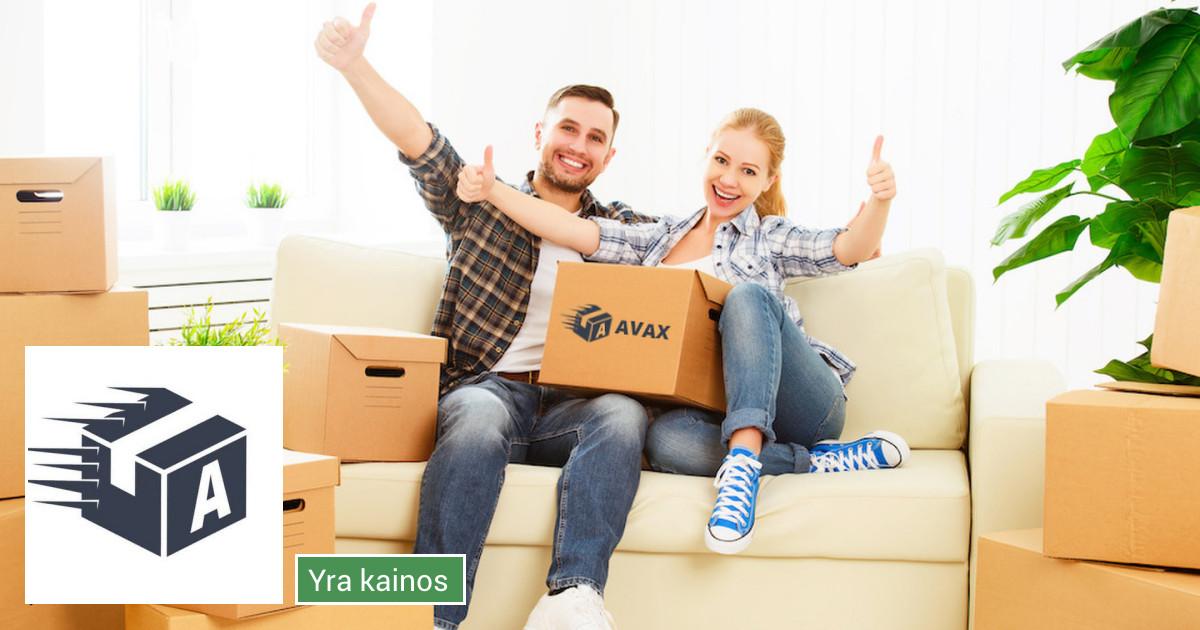 Perkraustymo paslaugos/krovinių pervežimas Lietuvoje Avax