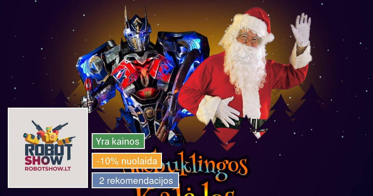 Įspūdingas Robotų pasirodymas   Įspūdinga Kalėdinė programa