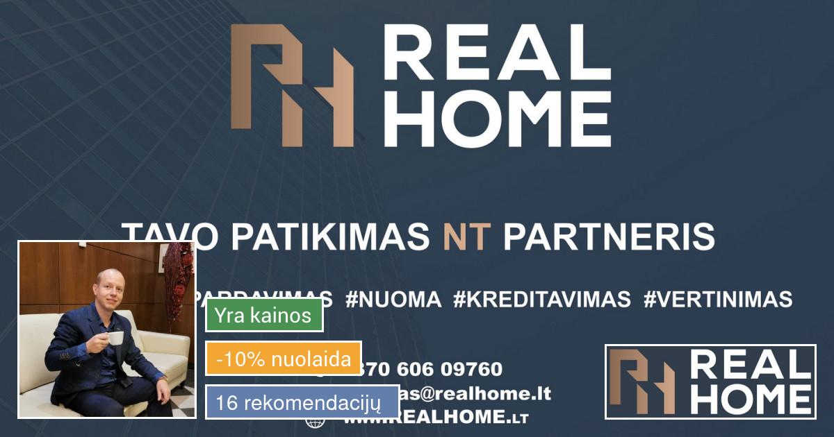 Nekilnojamo turto brokeris/ekspertas Kaune