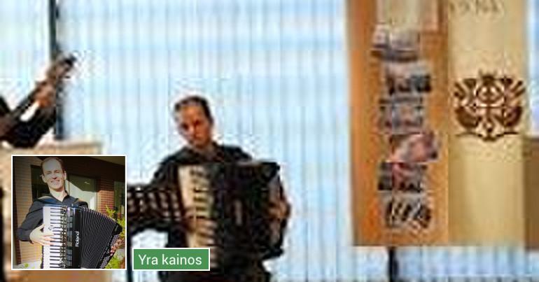 Akordeono muzika šventėms ir renginiams