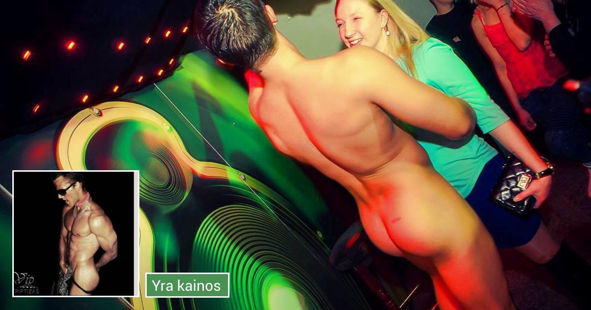Vyriškas striptizas Klaipėda