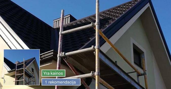 Dengiame stogus, renovuojame senus pastatus