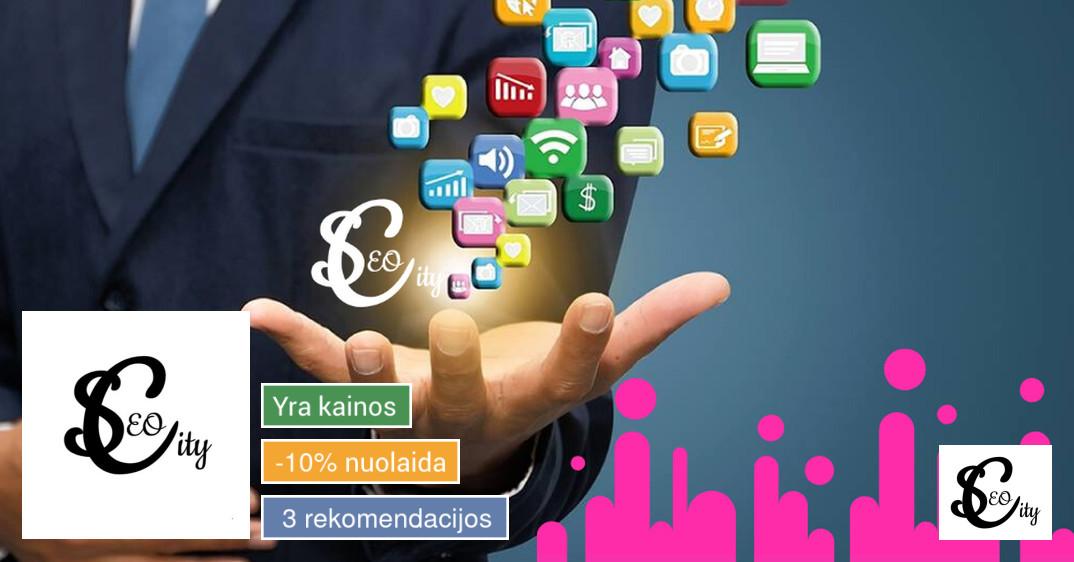 Seo optimizavimas, Reklama, Facebook administravimas