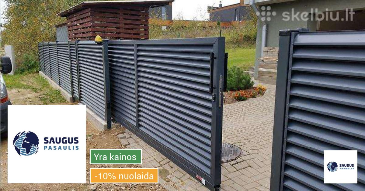 Kiemo ir garažo vartai, vartų automatika