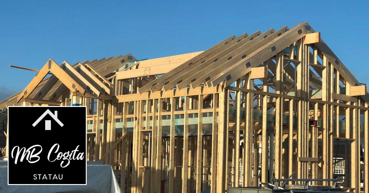 Namo stogo dengimas, renovavimas, šiltinimas.