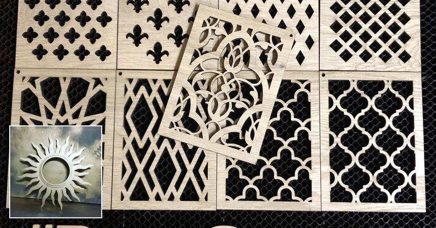 Graviravimas, pjovimas lazeriu didelio formato Klaipėda