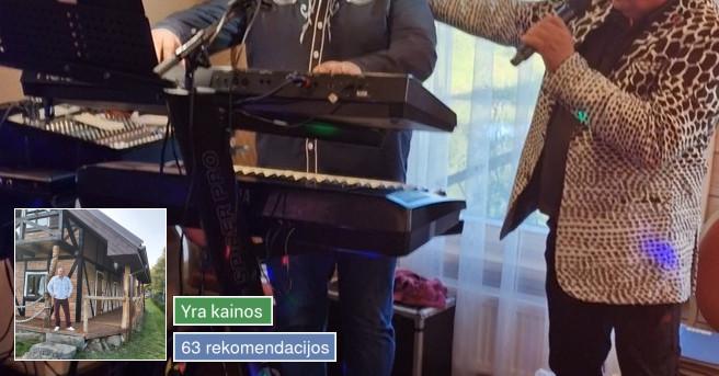 Vestuvių, jubiliejų, krikštynų muzikantas Artūras Nars