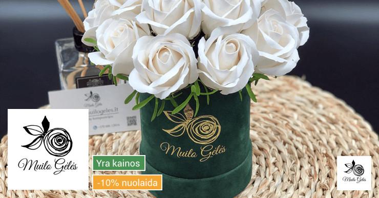 Muilo Gėlės ww/muilogeles/lt [Muilo puokštės]