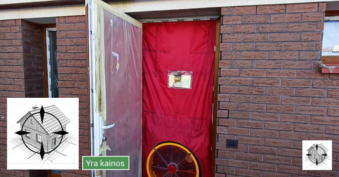 Sandarumo tyrimai ir energinis pastatų sertifikatas