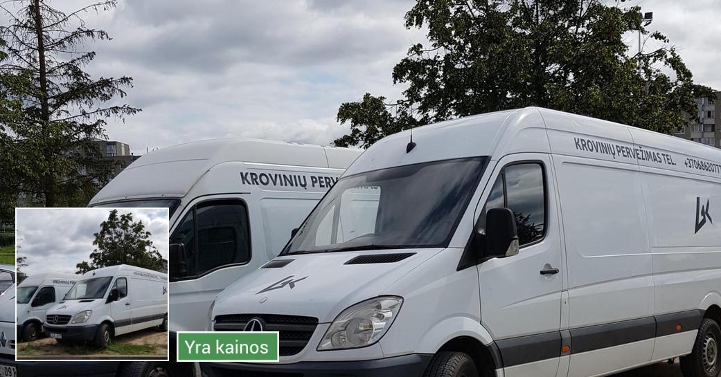 Krovinių pervežimas Vilniuje ir po visą Lietuvą!