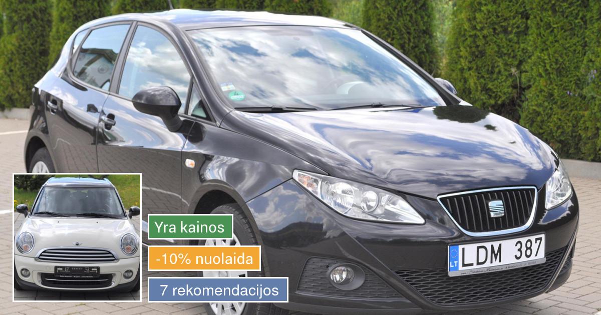 Lengvujų Automobilių Nuoma nuo 8 e.