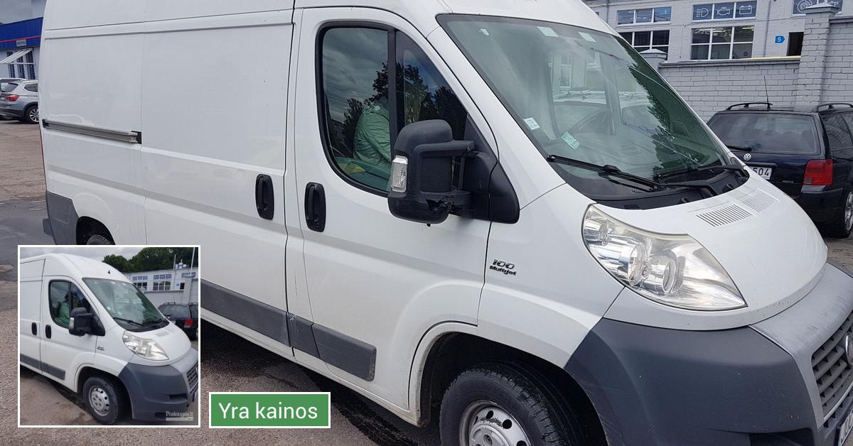 Krovininių Mikroautobusų nuoma.kaina nuo 45 eu.