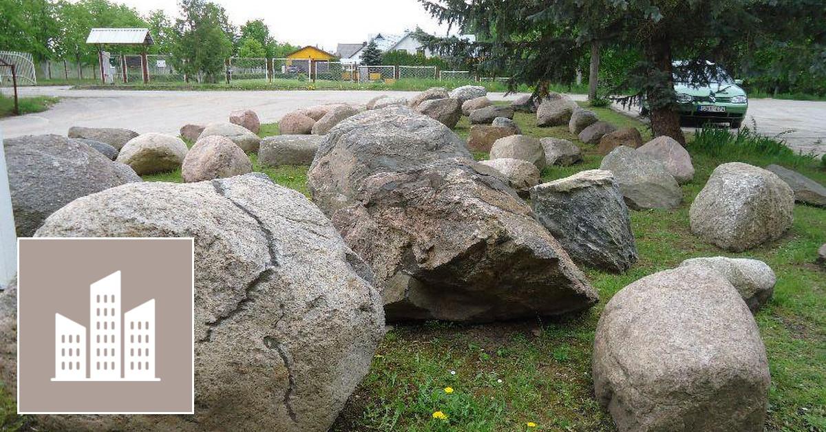 Lauko akmenys ,Reduliai
