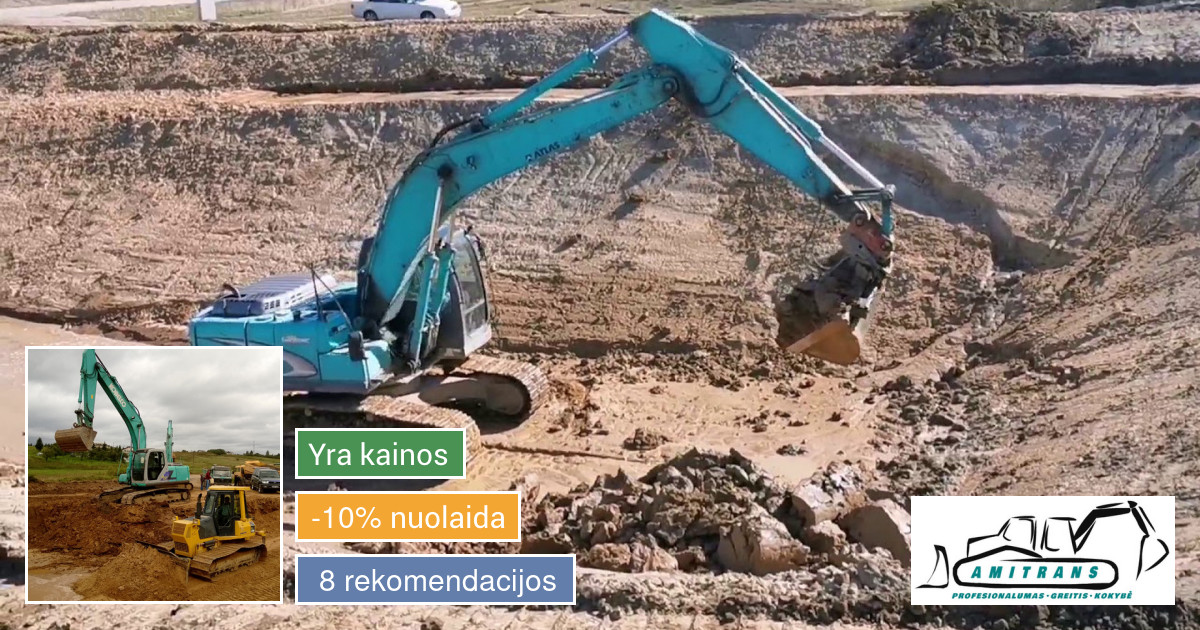 Tvenkinių,prūdų kasimas.buldozerio , ekskavatoriaus nuoma