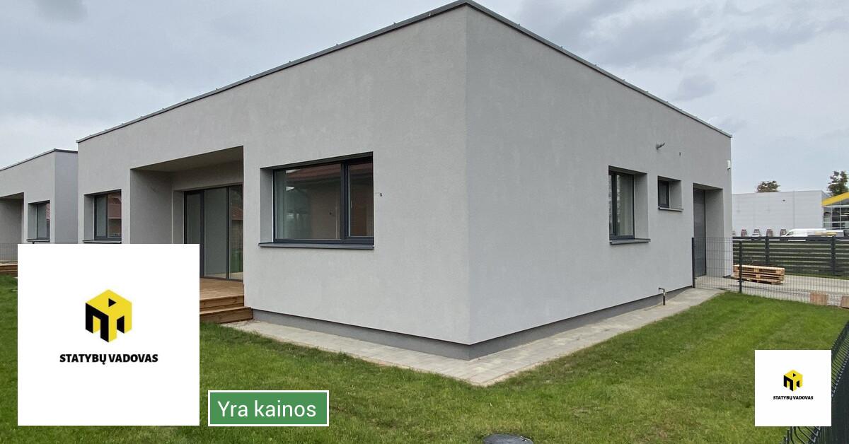 Namų statyba, pamatų įrengimas, mūro darbai ir kt.