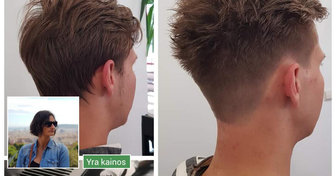 Plaukų kirpimas, dažymas ir kitos plaukų procedūros!