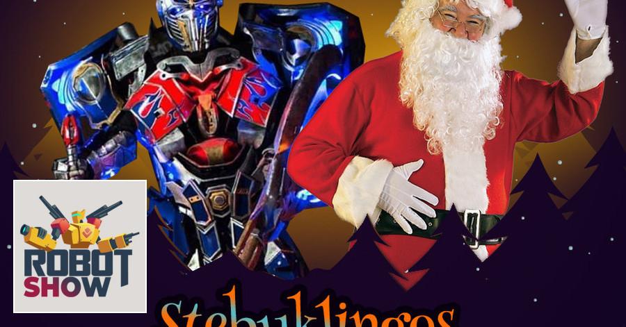 Įspūdinga Kalėdinė programa kartu su robotais Transformeriai